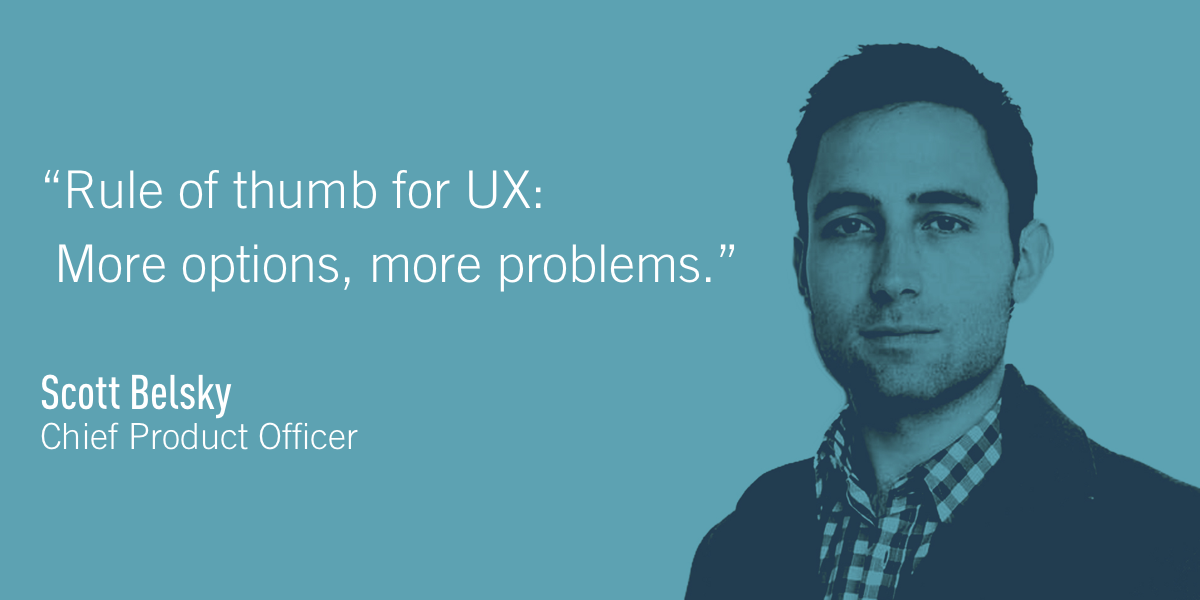Scott Belsky, Chief Product Officer