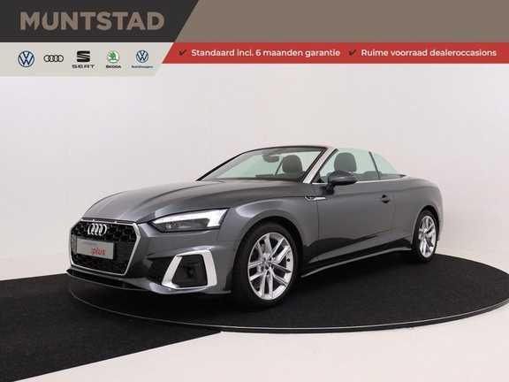 Audi A5 Cabriolet 190 pk 40 TFSI S edition | S-Line | Navigatie | Nekverwarming | Keyless-Entry | Massage-Stoelen | Virtual Cockpit | Camera |