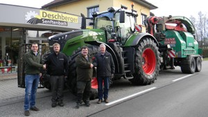 Strongest standard tractor in the world in the Innviertel region