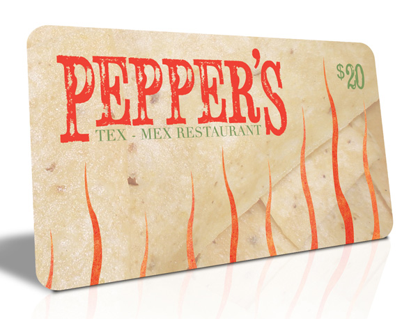 Pepper's Giftcard