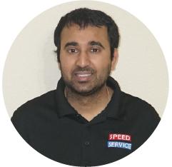 Viralkumar Patel, President of Speed Service LLC