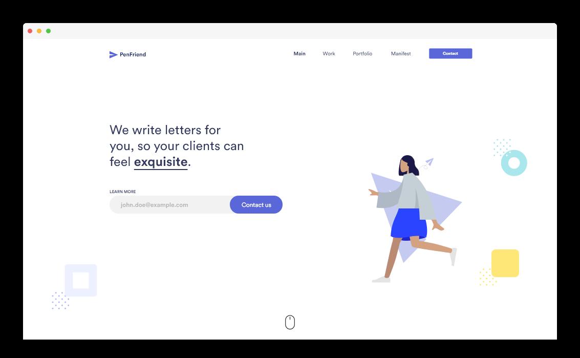 Blazing fast website design
