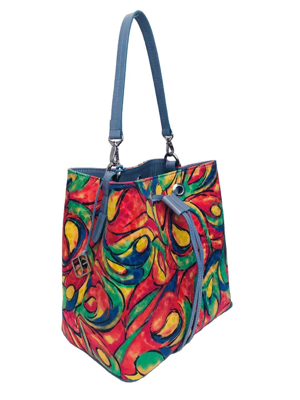 Alya Bucket Small Textile - multicolor