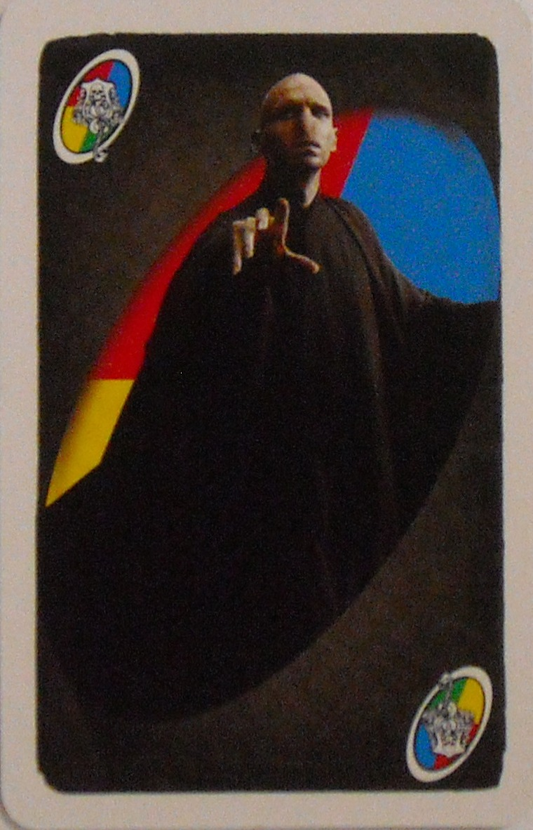 Harry Potter Uno 2010 (Voldemort Card)