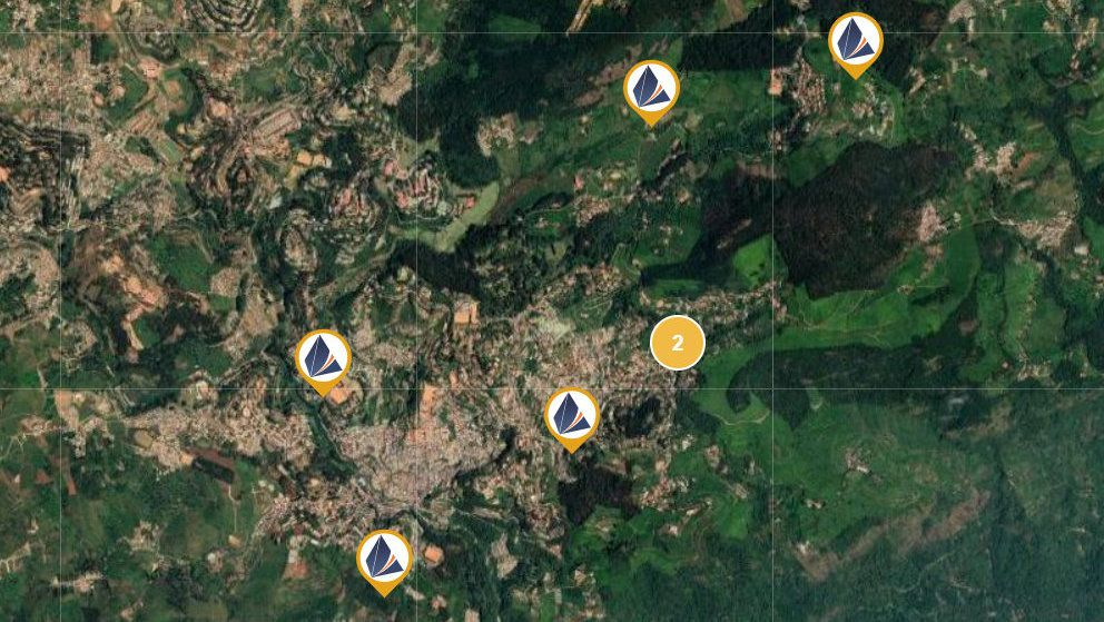 Location of vitrag plots for sale in Coonoor Ooty and Nilgiris