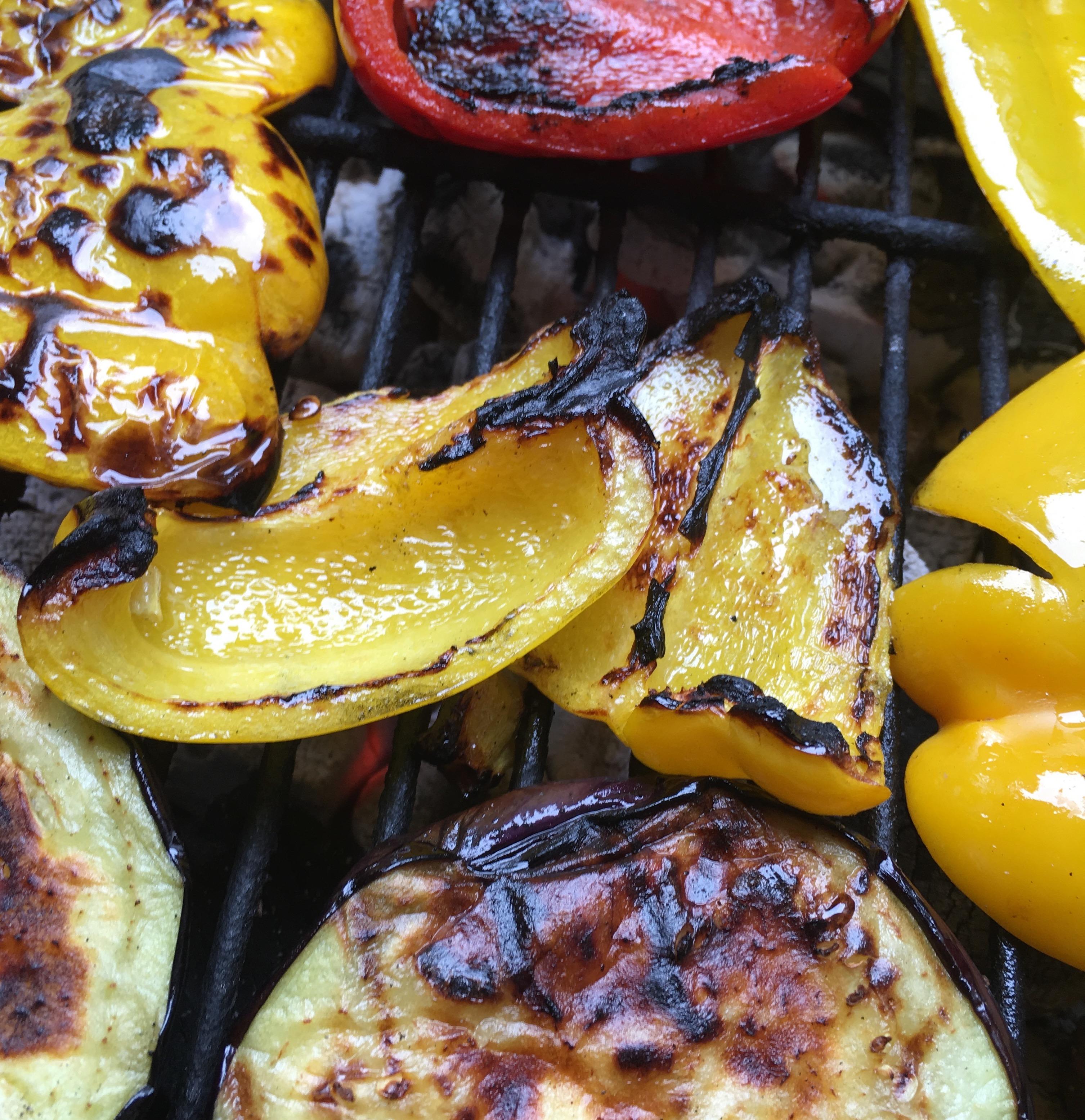 BBQ using charcoal