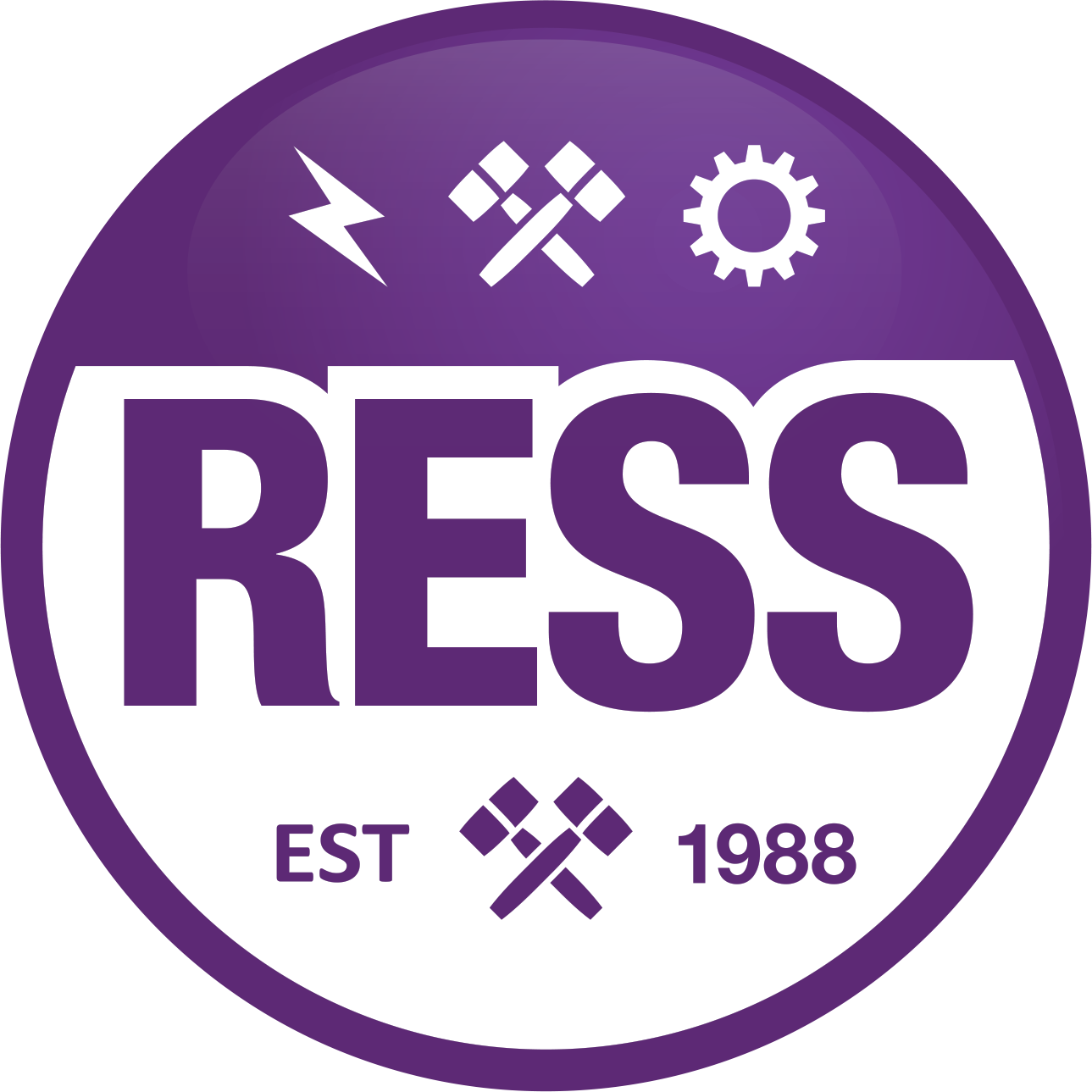 Ryerson Engineering Student Society (RESS) logo