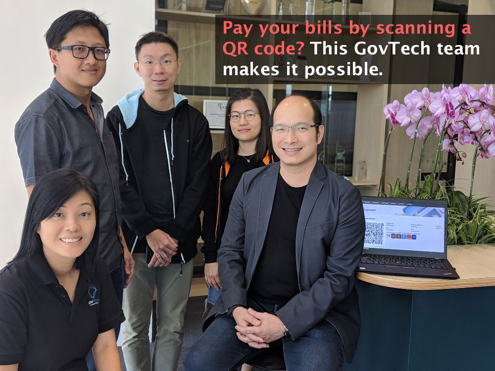 Pay your bills by scanning a QR code