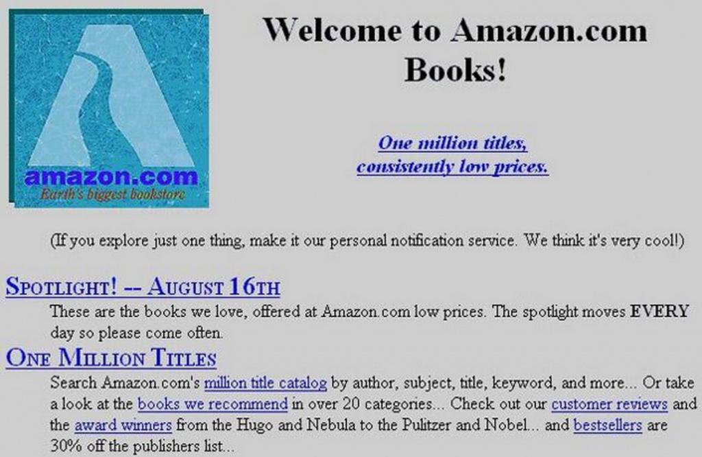 Amazon em 1995