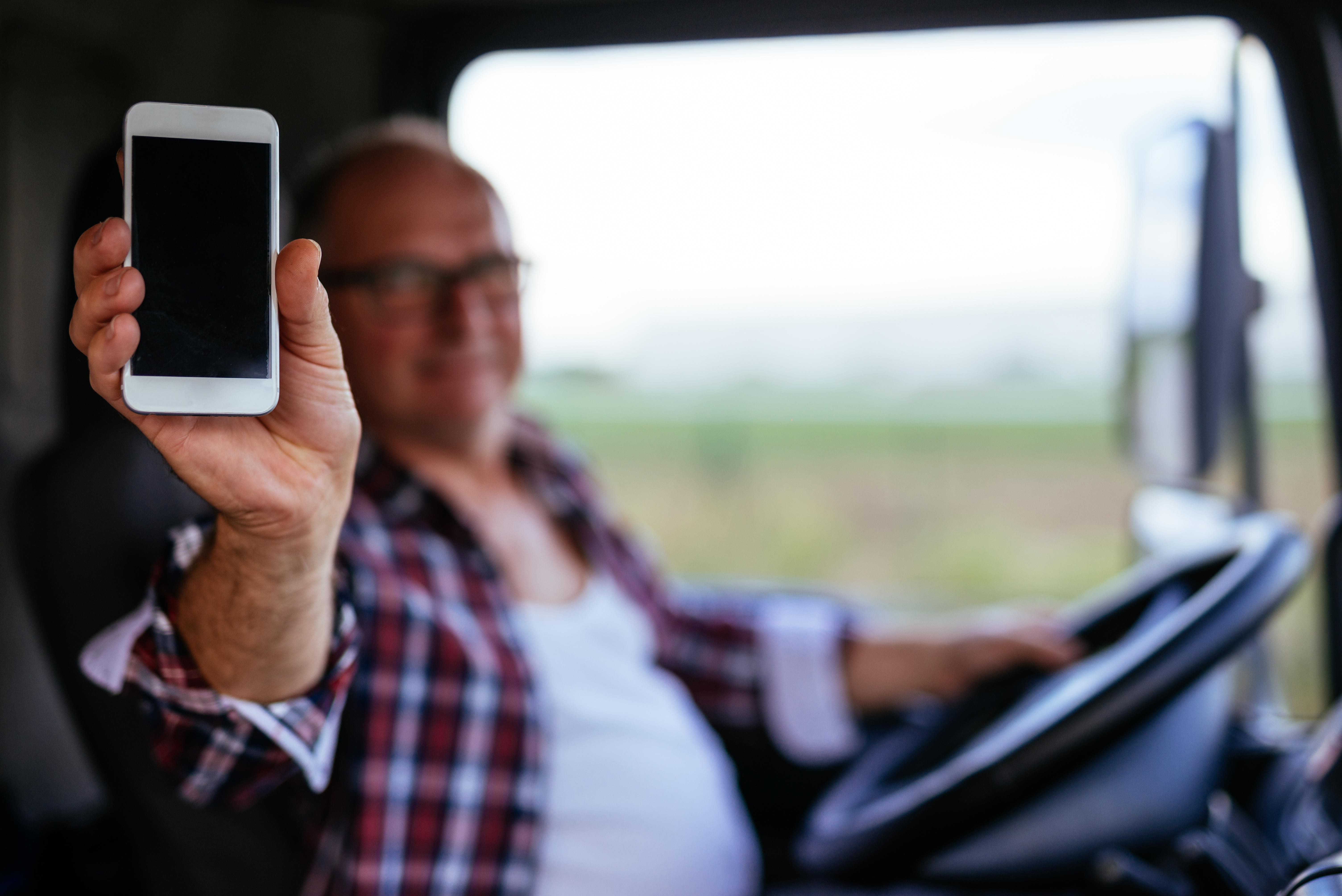driver smartphone