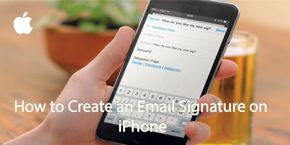 How to Create an Email Signature on iPhone