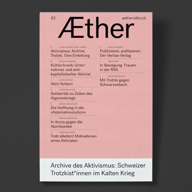 Æther 02: Archive des Aktivismus