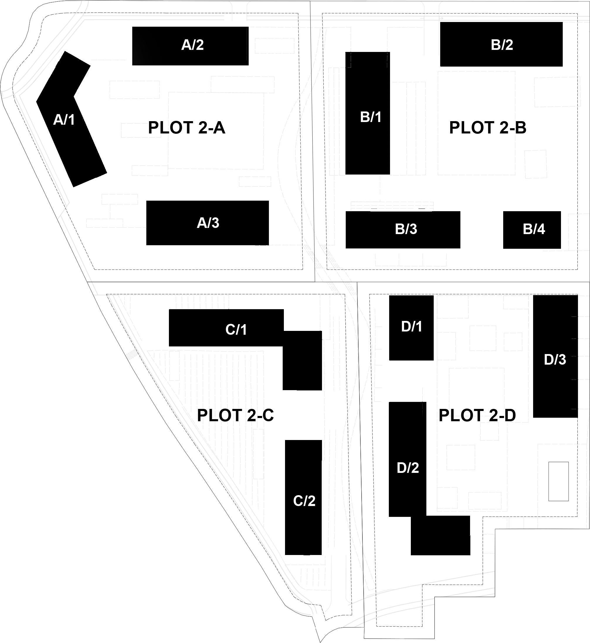 Planimetria bloom district appartamenti milano