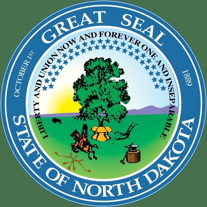 logo of State of North Dakota