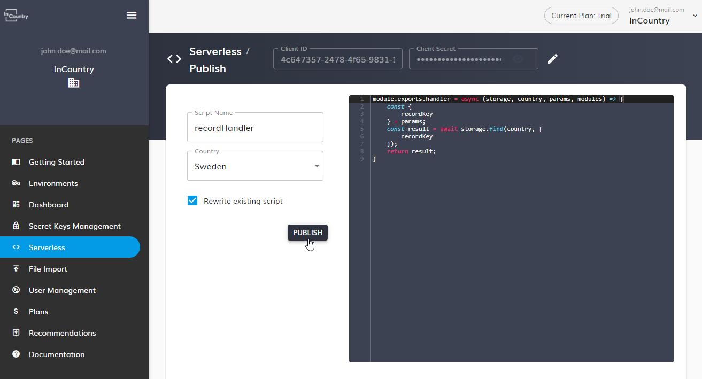 Rewrite existing script