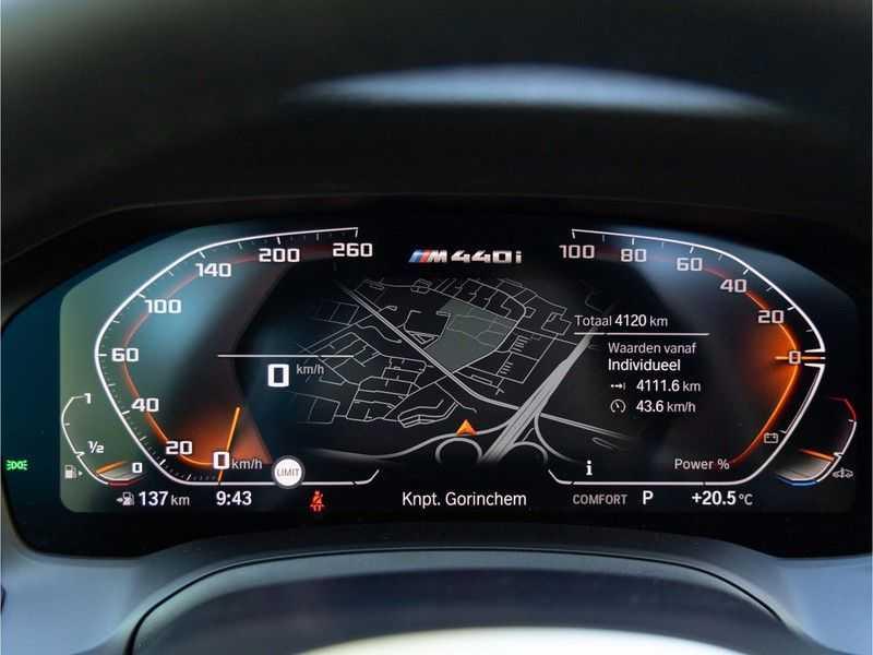 BMW 4 Serie Coupé M440i xDrive - High Executive - Dak - ACC - Harman Kardon afbeelding 20