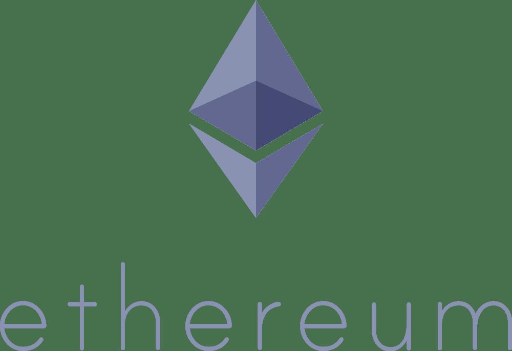 ETH logo portrait (purple)