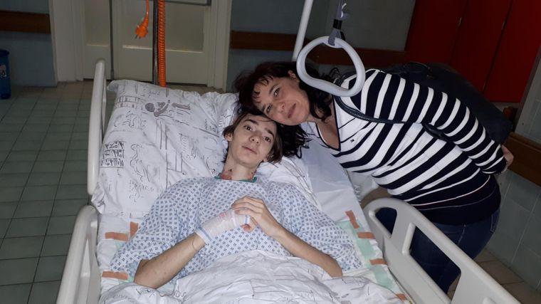 Poděkování za samostatný pokoj v nemocnici