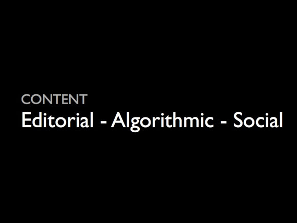 Editorial - Algorithmic - Social