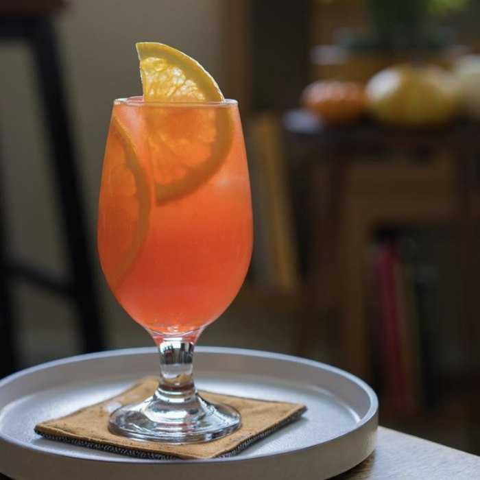 Autumn Garibaldi Cocktail