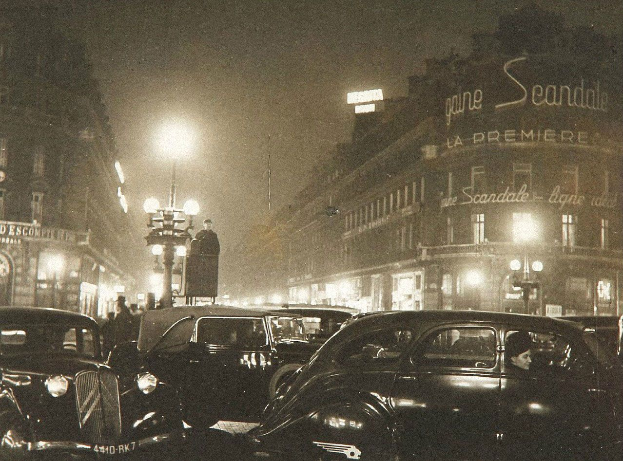 Площадь Оперы вПариже, 1930-1932годы. Фотограф Робер Дуано. Источник: robert-doisneau.com