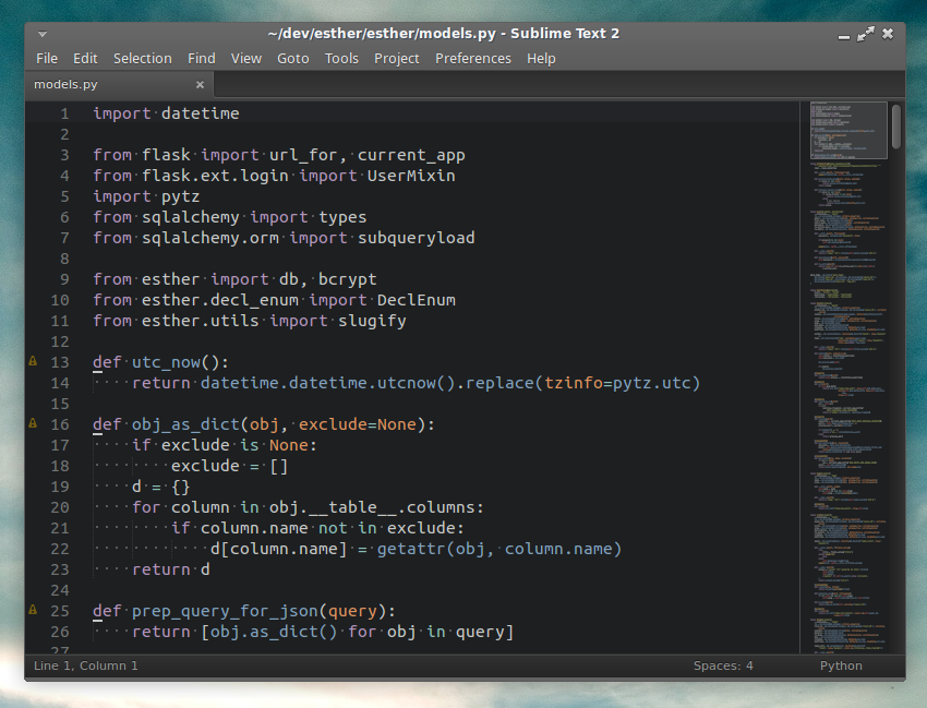 Sublime in XFCE