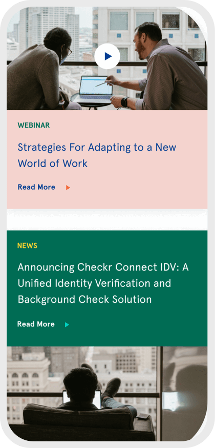 Checkr mobile webinar