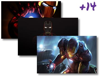 Iron Man Comics theme pack