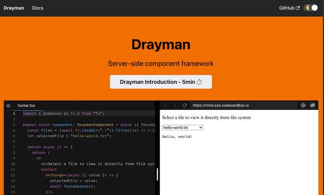 Drayman