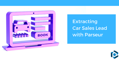Cover image for Extract Car Sales Leads with Parseur
