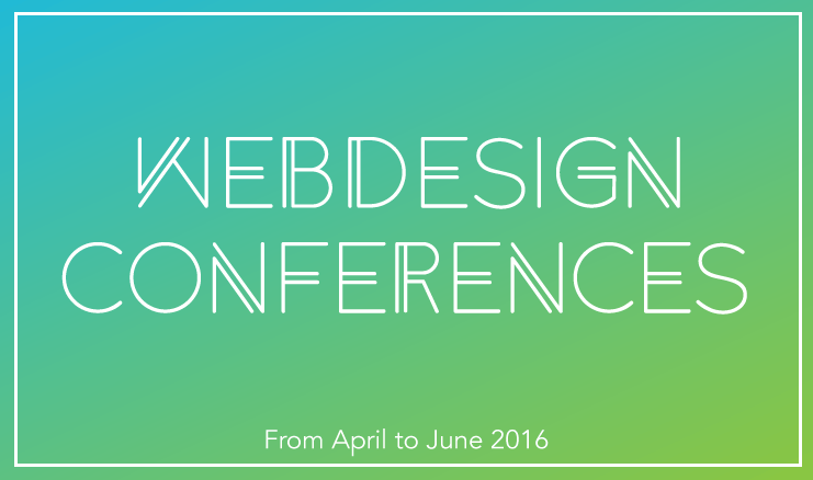 11 British Web Design Events for Spring 2016