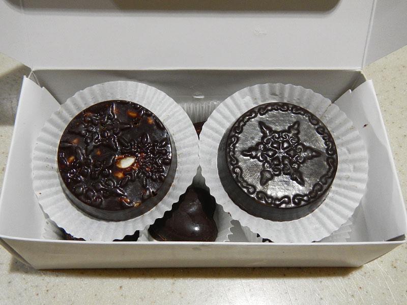 Raw Chocolate Gift Box Top