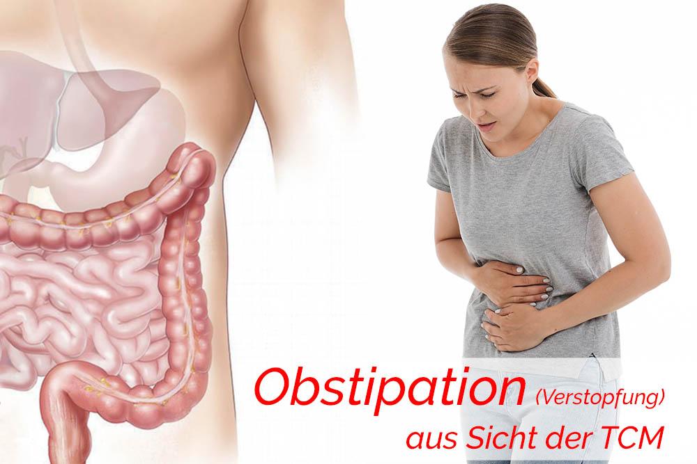 Obstipation (Verstopfung) aus Sicht der TCM