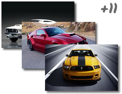 Ford Mustang theme pack