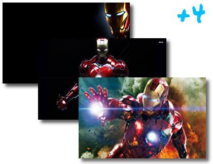 Iron Man theme pack