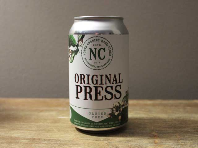 Original Press is a hard cider by North Country Hard Cider