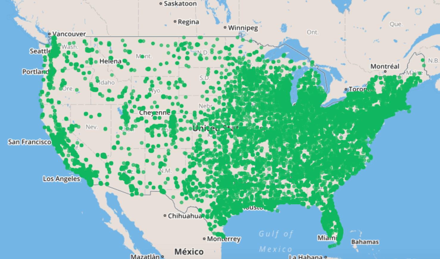 Msi density coverage