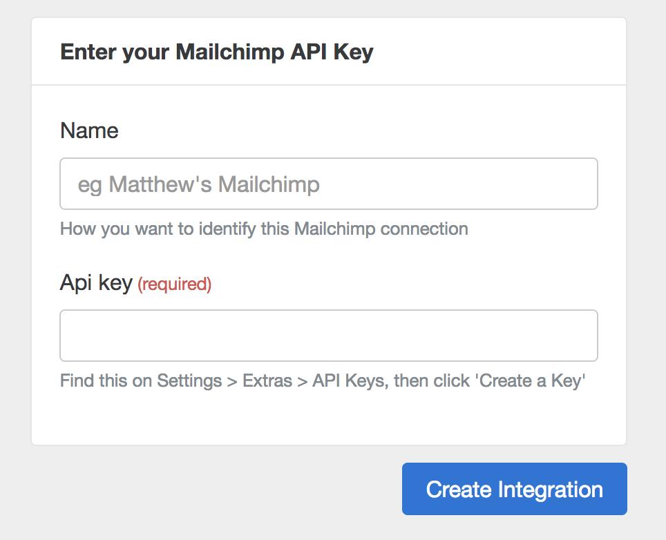 Mailchimp Api Request