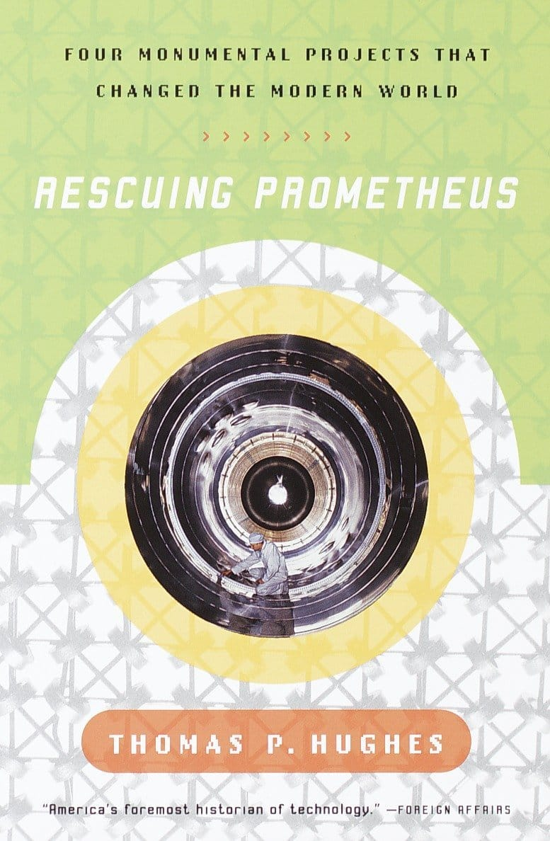 The cover of Rescuing Prometheus
