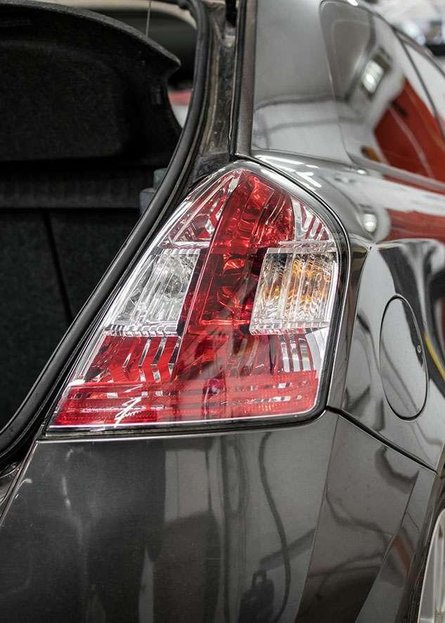Fiat Stilo car right side rear light before tinting
