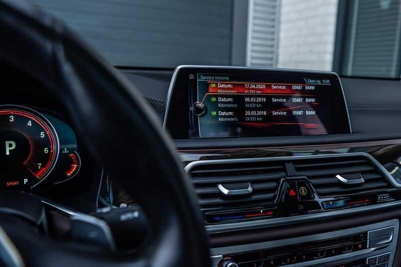 BMW 7 Serie 750i xDrive High Executive, 450 PK, Schuifdak, Gesture Control, Display/Key, Massage, Head/Up, Surround view, 56DKM!! afbeelding 8