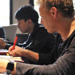 Kim Krogh learning during IMGA China Judging Session