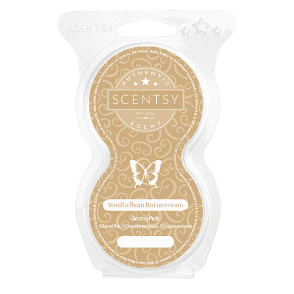 Vanilla Bean Buttercream Scentsy Pod Twin Pack
