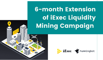 6-month extension for the iExec liquidity mining campaign