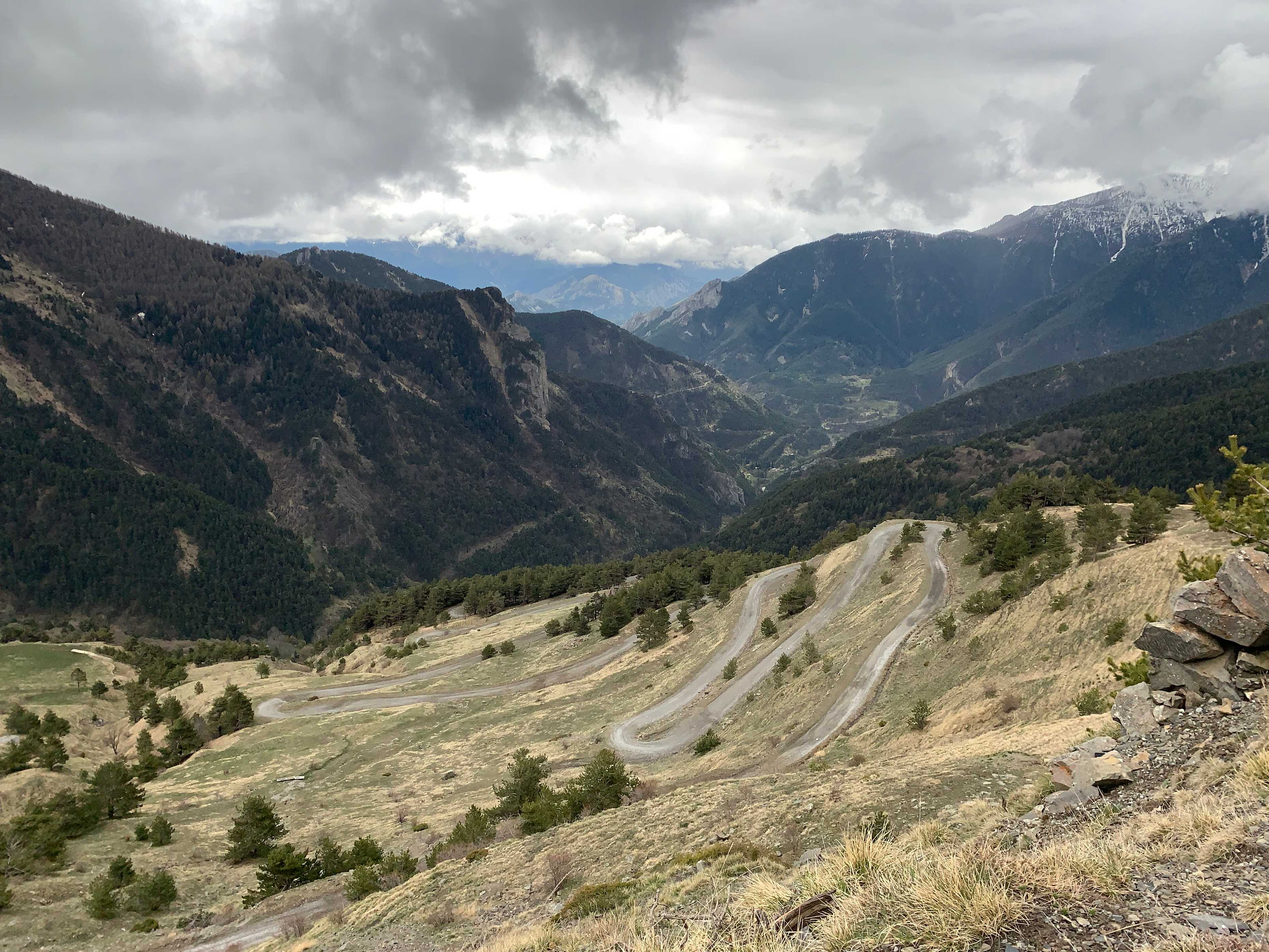 French Alps to Italy via Colle di Tende
