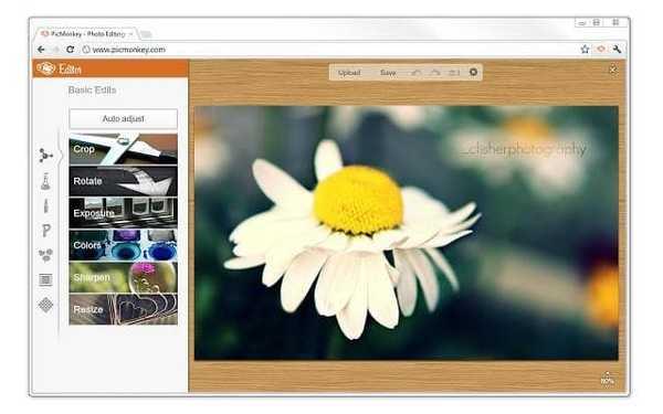 PicMonkey Image editing tool