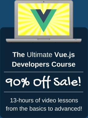 Ultimate Vue.js Developers Course