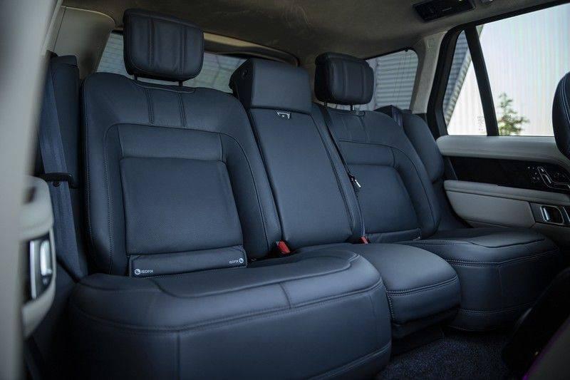 Land Rover Range Rover 5.0 V8 SC Autobiography Portofino Blue + Verwarmde, Gekoelde voorstoelen met Massage Functie + Adaptive Cruise Control + Head Up afbeelding 10