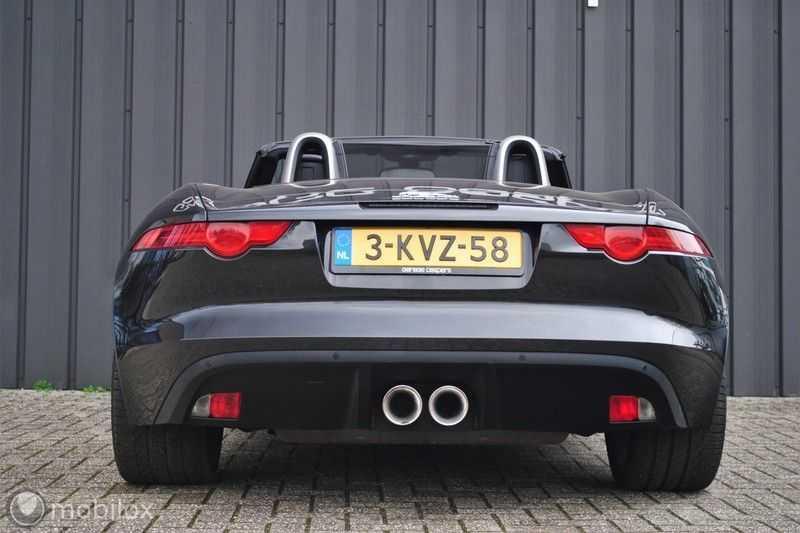 Jaguar F-Type 3.0 V6 Convertible   398 Pk, 500 Nm   Leder   afbeelding 13