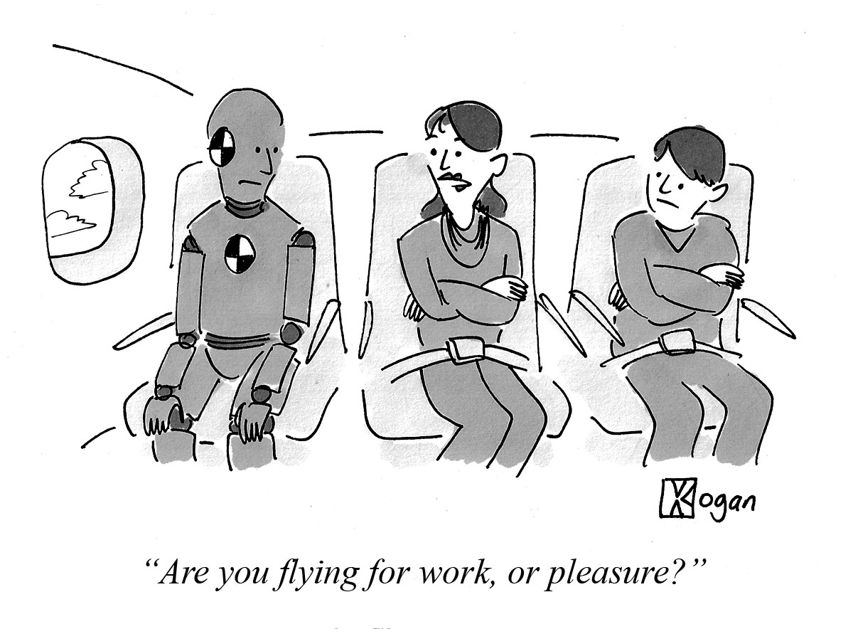 Are you flying for work, or pleasure?